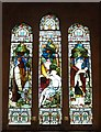 SU9298 : St John the Baptist - Stained glass (2) by Rob Farrow