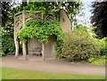 SJ7387 : Dunham Massey Garden, Bark House by David Dixon
