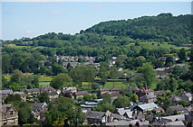 SK2168 : Bakewell from the Church Tower by Peter Barr