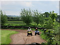 NX9570 : Quad  Bikes  at  Mabie  Farm  Park by Martin Dawes