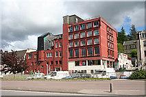 NN1073 : Former Palace Hotel by Anne Burgess