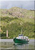 NM9080 : Loch Shiel Cruise Boat by Anne Burgess