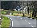 NM9340 : A828 near Mill Farm by David Dixon