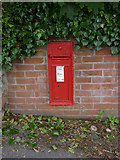 SK5855 : Blidworth Main Street postbox ref NG21 107 by Alan Murray-Rust