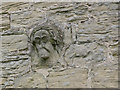 SK5855 : Carved head on Blidworth church by Alan Murray-Rust