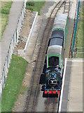 TA0390 : North Bay Railway train by Pauline E