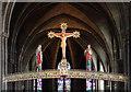 SP0785 : St Alban, Highgate - Rood by John Salmon