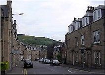 NT4935 : St. John Street in Galashiels by James Denham