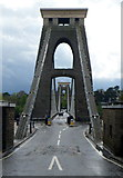 ST5673 : Bristol end of  the Clifton Suspension Bridge by Jaggery