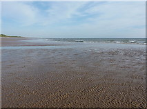 SD0983 : Ripples in the sand at Gutterby Spa by Richard Law