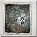 SP0860 : Coat of Arms of Sir John Throckmorton, St Peter's Church, Coughton Court, Warwickshire by Brian Robert Marshall