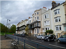 ST5673 : Sion Hill houses, Clifton, Bristol by Jaggery