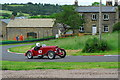 SE3345 : Harewood Hillclimb competitor at Farmhouse Bend by John Winder