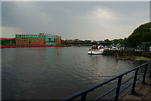 NZ4519 : The River Tees, Stockton on Tees by Ian S