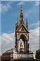 TQ2679 : Albert Memorial and Royal Albert Hall, Kensington Gore, London SW1 by Christine Matthews