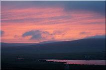 HP6312 : Sunset over Haroldswick by Mike Pennington