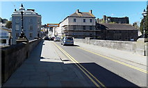 SM9515 : West across New Bridge, Haverfordwest by Jaggery