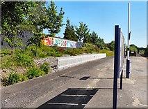 SJ8993 : Reddish South Station by Gerald England