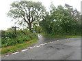 SJ2531 : Lane to Glopa Farm by Row17