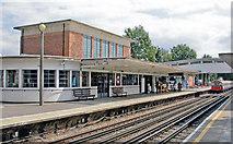 TQ1684 : Sudbury Town LUL Station by Ben Brooksbank