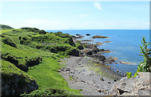 NS2515 : Coastline at Dunure by Billy McCrorie