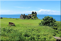 NS2515 : Dunure Castle by Billy McCrorie