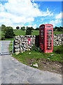 NY5119 : Knipe telephone kiosk by Oliver Dixon
