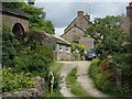SK0756 : Village scene, Butterton by Andrew Hill