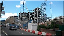 NZ2463 : Offices under construction, Forth Banks, Newcastle upon Tyne by Graham Robson