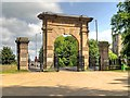 SD5817 : The Memorial Archway, Astley Park by David Dixon