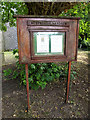 TM4280 : St.Andrew's Church Notice Board by Adrian Cable