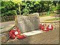 "SD5817 : The ""Falklands Stone"" War Memorial at Astley Park by David Dixon"