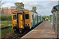 SJ3250 : Arriva Trains Wales Class 150, 150284, Wrexham General railway station by El Pollock