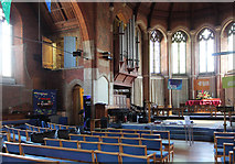 TQ2696 : St James, East Barnet Road - Organ by John Salmon