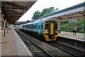 SJ3250 : Arriva Trains Wales Class 158, 158822, Wrexham General railway station by El Pollock