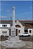 NS5036 : Galston War Memorial by Leslie Barrie
