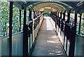 TQ3372 : Footbridge at Sydenham Hill station, 1986 by Ben Brooksbank