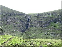 J3629 : The Black Stairs hanging valley on Slieve Donard by Eric Jones