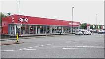 NZ2463 : Car dealership, Railway Street, Newcastle upon Tyne by Graham Robson