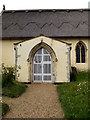 TM3973 : St. Andrew's Church Porch by Adrian Cable