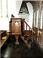 TM3973 : Pulpit of St. Andrew's Church by Adrian Cable