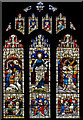 TQ8327 : West window, St Paul's church, Newenden by Julian P Guffogg