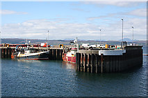 NM6797 : Fishing Boats by Anne Burgess