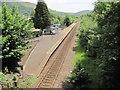 SS9596 : Treorchy railway station, Rhondda Cynon Taf by Nigel Thompson