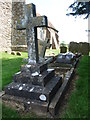 TR0325 : Graveyard at St. Clement's, Old Romney by Chris Whippet