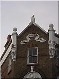 TQ2764 : The Sun, corner of North Street and Mill Lane, Carshalton: detail by Christopher Hilton