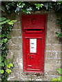 TL9756 : High Town Green Victorian Postbox by Geographer