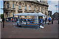 TA0928 : Boxing ring in Queen Victoria Square, Hull by Ian S