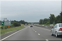 SK7964 : A1 southbound by J.Hannan-Briggs