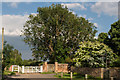 TQ1949 : Entrance to Brockham Court Farm by Ian Capper